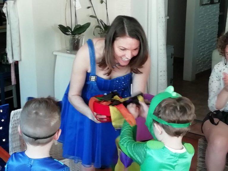 Spectacle de magie et marionnette pour tout petits